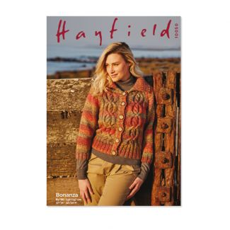 Hayfield Pattern - Ladies Jacket