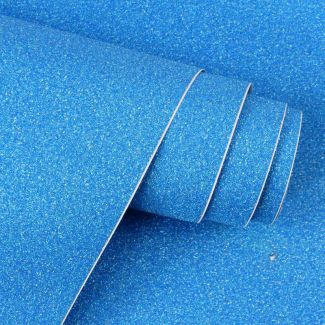 Diamond Sparkles Self-Adhesive Shimmer Roll - Sapphire Blue