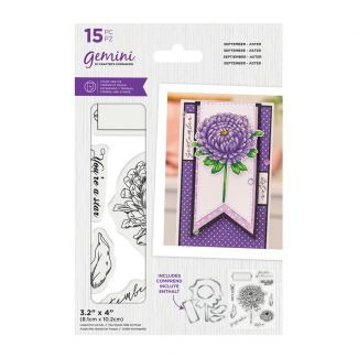 Gemini - Stamp & Die - September - Aster