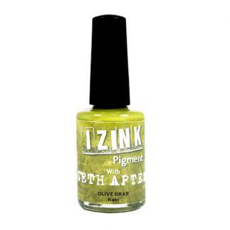 Izink Pigment by Seth Apter - Olive Drab