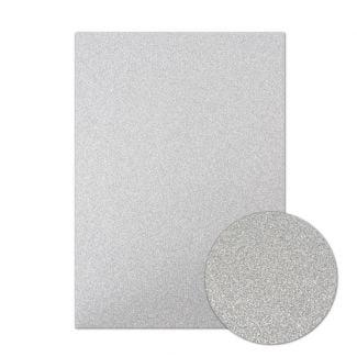 Diamond Sparkles Shimmer Card - Silver
