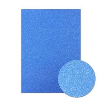 Diamond Sparkles Shimmer Card - Sapphire Blue