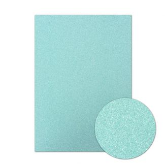 Diamond Sparkles Shimmer Card - Sky Blue