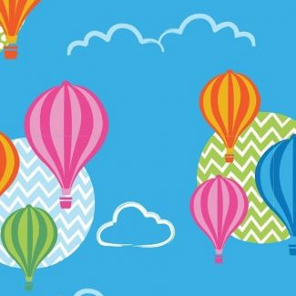 Stuart Hillard Hot Air Balloon Collection - Balloon Texture