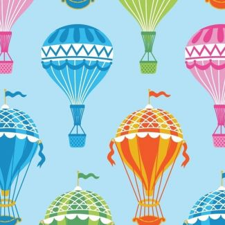 Stuart Hillard Hot Air Balloon Collection - Multi Balloons