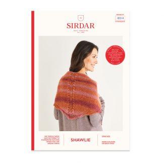 Sirdar Shawlie pattern - patterned shawl