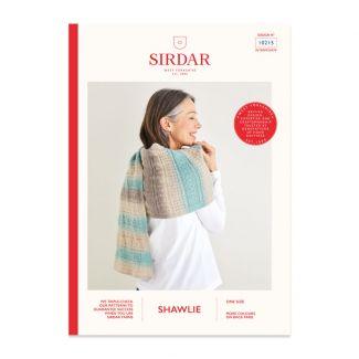 Sirdar Shawlie pattern - wrap