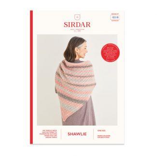 Sirdar Shawlie pattern - single-shaded shawl