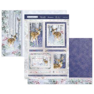 Deerest Winter Wishes Luxury Topper Set