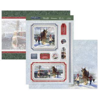 Christmas on the Canal Luxury Topper Set