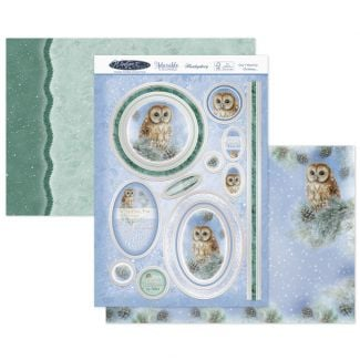 Owl I Want for Christmas Luxury Topper Set