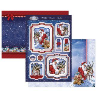 Christmas Eve Luxury Topper Set