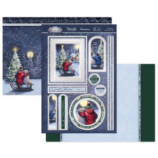 Christmas is Perfect with You Luxury Topper Set