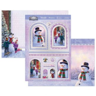 The Magic of the Snowman Luxury Topper Set