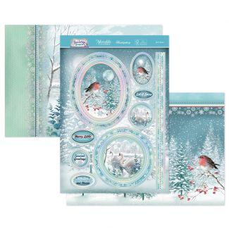 Let It Snow Luxury Topper Set