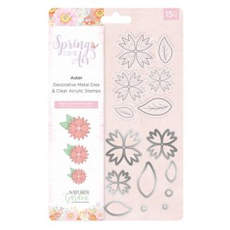 Spring is in the Air - Stamp and Die - Aster