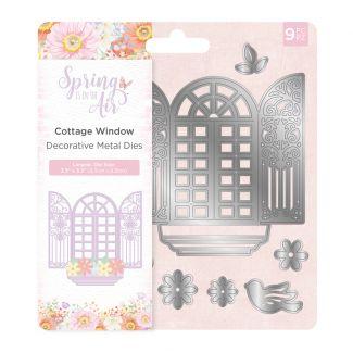 Spring is in the Air - Metal Die - Cottage Window