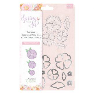 Spring is in the Air - Stamp and Die - Primrose
