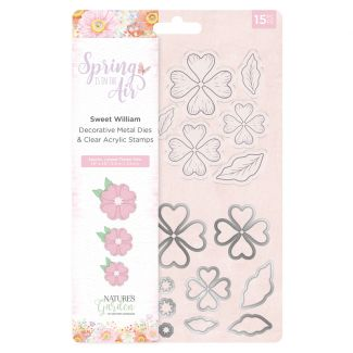 Spring is in the Air - Stamp and Die - Sweet William
