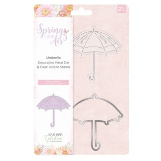 Spring is in the Air - Stamp and Die - Umbrella