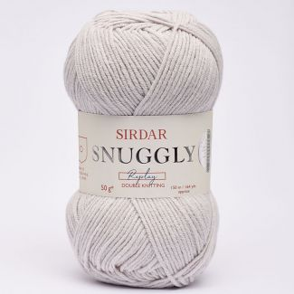 Snuggly Replay DK 50g - Surf's Up Silver DK