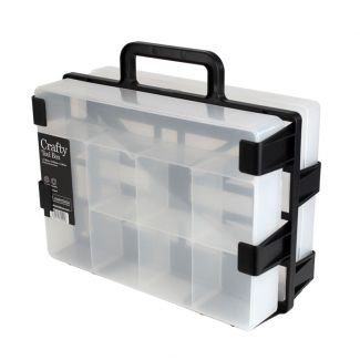 A4-2-Go Carrier & 2 Crafty Tool Boxes