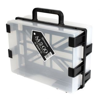 A4-2-Go Carrier & 1 x A4 Box & 1 x Crafty Tool Box