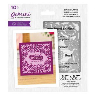 Gemini - Stamp & Die - Botanical Frame