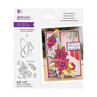 Gemini - Stamp & Die - Festive Poinsettia