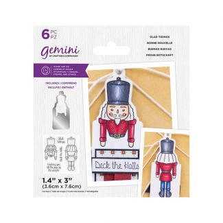 Gemini - Stamp & Die - Glad Tidings