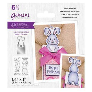 Gemini - Stamp & Die - Hoppy Birthday