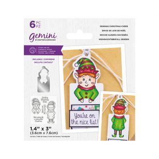 Gemini - Stamp & Die - Sending Christmas Cheer