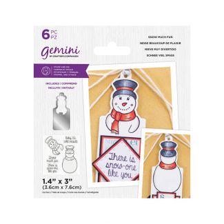 Gemini - Stamp & Die - Snow Much Fun