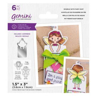 Gemini - Stamp & Die - Sparkle with Fairy Dust