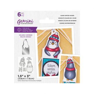 Gemini - Stamp & Die - Warm Winter Wishes