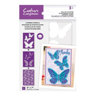 CC - Layering Stencils - Full of a Flutter