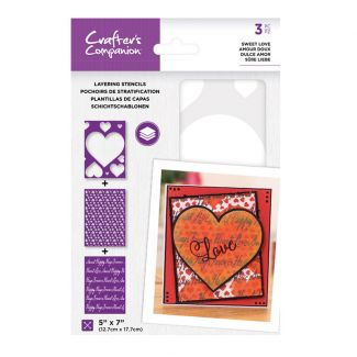 CC - Layering Stencils - Sweet Love