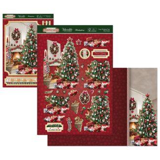 Stepping Into Christmas Deco-Large - Cosy Christmas Tree