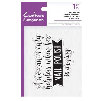 CC - Clear Acrylic Stamps - Nail Polish