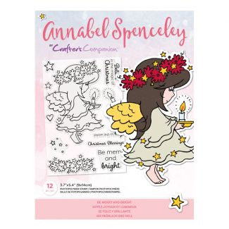 Annabel Spenceley Photopolymer Stamp - Be Merry and Bright