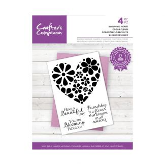 CC - Photopolymer Stamp - Blooming Heart