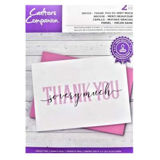 Brush Lettering Stamps - Thank You So Very Much