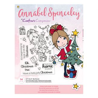 Annabel Spenceley Photopolymer Stamp - From Our Home to Yours