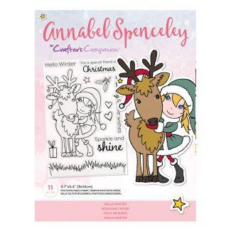 Annabel Spenceley Photopolymer Stamp - Hello Winter