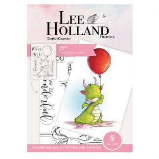 Lee Holland Photopolymer Stamp - Hello You