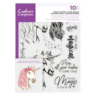 CC- Photopolymer Stamp - Magical Unicorn