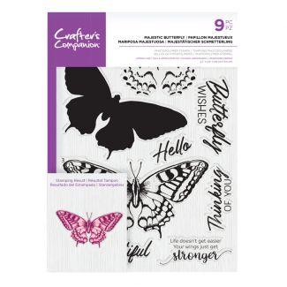 CC- Photopolymer Stamp - Majestic Butterfly