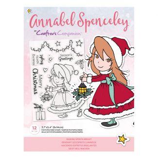 Annabel Spenceley Photopolymer Stamp - Making Spirits Bright