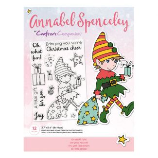 Annabel Spenceley Photopolymer Stamp - Oh What Fun