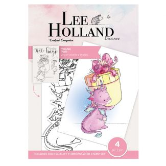 Lee Holland Photopolymer Stamp - Thank You